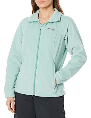 Columbia womens Benton Springs Full Zip Fleece Jacket, Aqua Tone, X-Small US