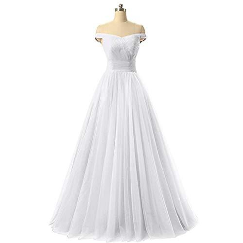 Bruidsjurk opbergdoos Off-the-shoulder Ontwerp Trouwjurk, Banketjurk, Volwassen jurk, Geschikt voor elke formele gelegenheid