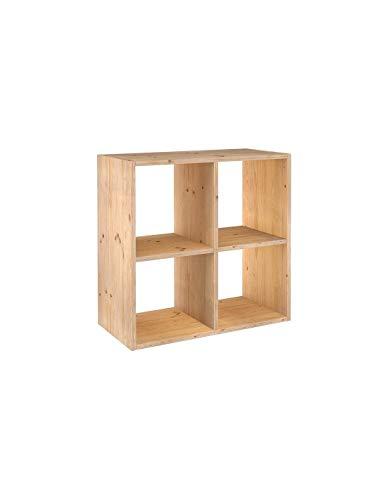 ASTIGARRAGA KIT LINE Estantería modular 2 x 2 cubos DINAMIC