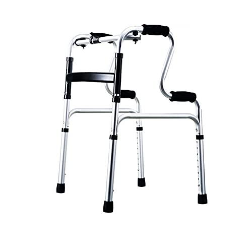 LRL Caminantes estándar Walker - Walker para discapacitados, Walker para rehabilitación de Ancianos, muletas, ayudas para Caminar, armazón de Coches Movilidad Ligera Duradera (Color : Style 4)
