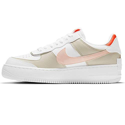 Nike Air Force 1 Shadow, Zapatillas de Baloncesto. Mujer, Multicolor, 39 EU