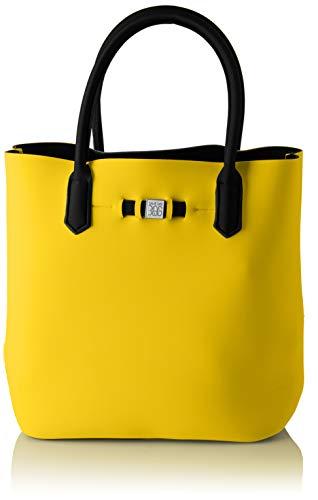 Bolsos de mano Mujer, Amarillo