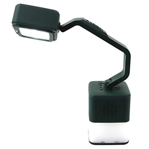 Altavoz Bluetooth Portatil Plegable Altavoz Inalámbrico con Luz, Puerto USB Giratorio De 360 Grados Función NFC A Prueba De Polvo, A Prueba De Caídas, para Camping Fiesta Y Hogar