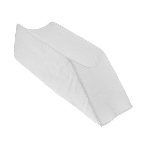 Sharplace Beinkissen | Orthopädisches Kniekissen für Hüfte, Ergonomisches Kissen für Schwangerschaft & Seitenschläfer Waschbarer Bezug - Weiß