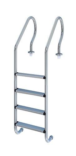 Productos QP 529124 - Escalera Mixta 4 peldaños aisi 304