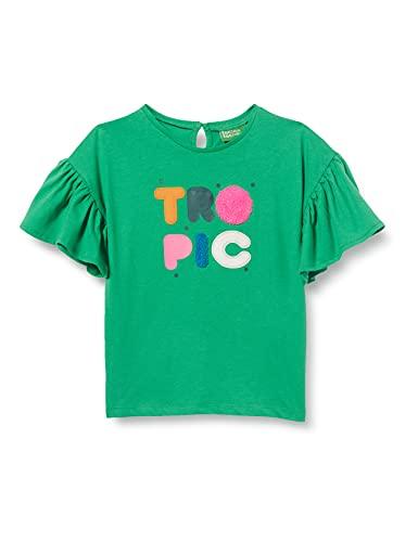 Tuc Tuc Camiseta Punto Paraiso, Verde, 7A para Niñas