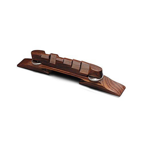 Golden Age Archtop Guitar Bridge, Indian Rosewood