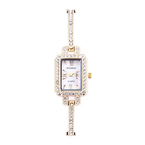 Armbanduhr Damen Uhr Luotuo Mode Luxus Analog Quartzuhr Quadratisches Zifferblatt Frauen Wild Geschäft Freizeit Watch Handschmuck
