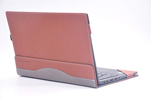 For Lenovo ThinkPad X1 Carbon 14 Inch 2017/2018 Version Laptop Case COver PU Leather Notebook Protective Sleeve (X1 Carbon 2017/2018, brown)