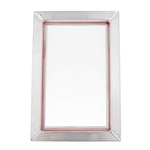 Shiwaki Holz Papierherstellung Siebdruck-Rahmen Holz Rechteckige Form Aluminium Rahmen für Kleidungsstückdruckfabrik - 31x43cm