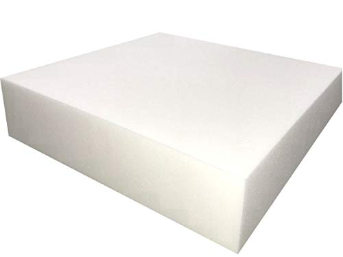 "FoamTouch Upholstery Foam Cushion High Density, 5"" H X 24"" W X 24"" L"