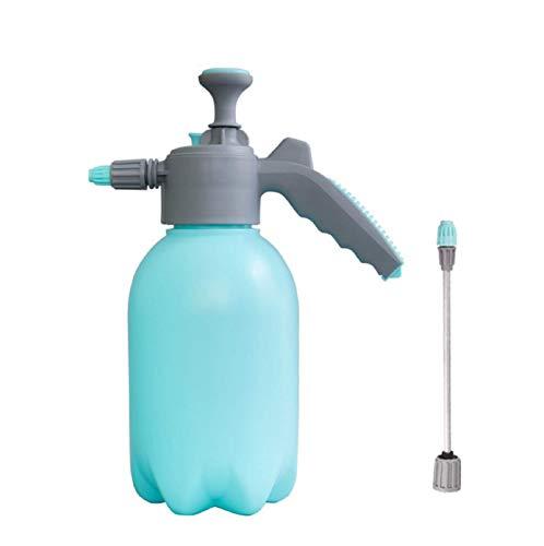 JHYS Garden sprayers,2L Garden Pressure Sprayer,Portable Hand Held Water Spray Bottle,One Hand Pressure Sprayer For Lawn,Garden,Pest Control (blue)