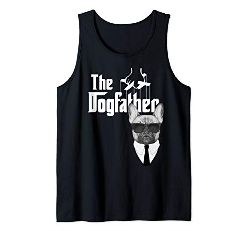 The Dogfather French Bulldog Frenchy Dog Tank Top