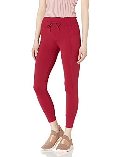 Skechers Gowalk Jogging Pantalones de Yoga, Bet Rojo, XS para Mujer
