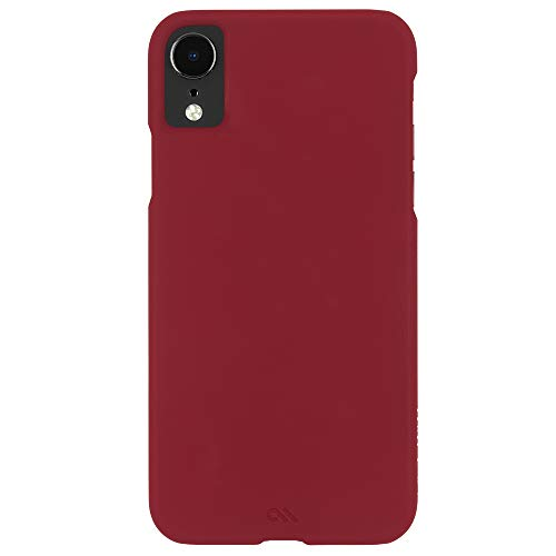 Case-Mate - iPhone XR Case - BARELY THERE - iPhone 6.1 - Cardinal