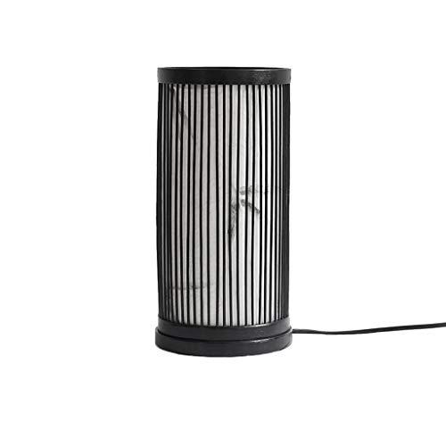 Ywyun vent industriel lampes en fer rétro, lampe de chevet chambre mezzanine créatif, personnalisé Bar lampe de table en verre de café, 32.5 * 13.5cm