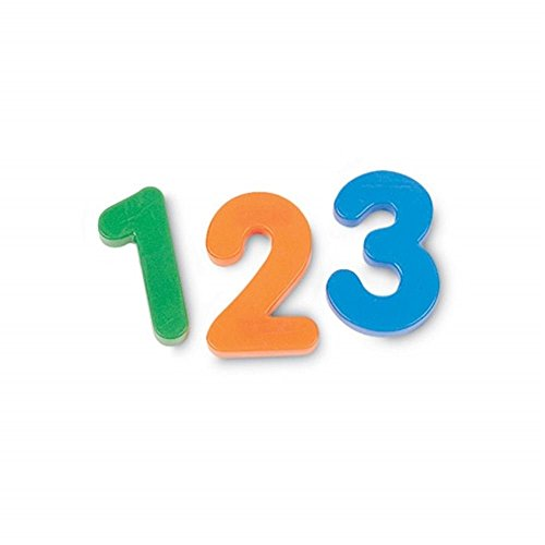 Learning Resources Jumbo Magnetic Numbers, Whiteboard Classroom Accessories, Number Recognition, Counting Skills, Set 36, Ages 3+