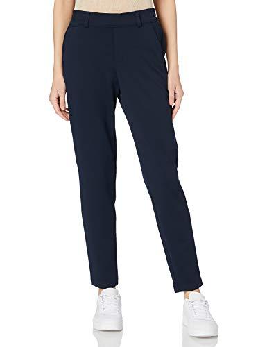 TOM TAILOR Denim Damen 1021175 Relaxed Sweatpants Hose, Sky Captain Blue, L