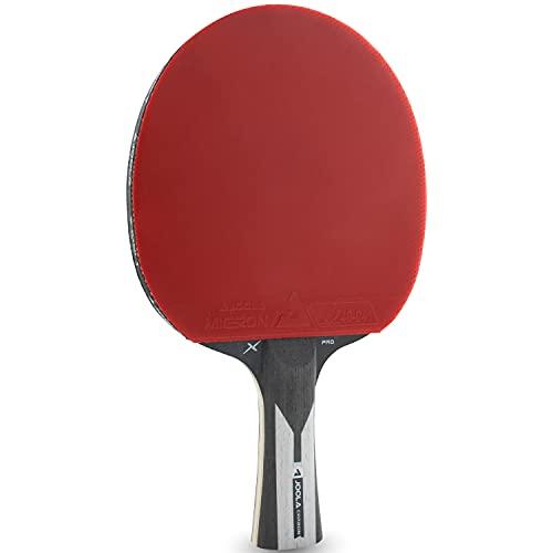 JOOLA Carbon X Pro - Raqueta de Ping Pong (7 Estrellas, 2 mm de Grosor), Color Negro y Gris