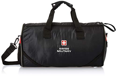 SWISS MILITARY 47cm Sports Bag Black (BP-5)