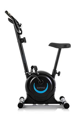 Zipro Bicicleta estática magnética One S para adultos, hasta 110 kg, color negro, talla