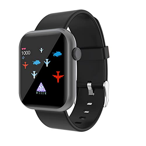 Lazzzgua Smart Watch for Android Phones, IP68 Waterproof Smartwatch for Men Women 1.3'' Full-Touch Activity Fitness Tracker Watch with Sleep Monitor, Pedometer