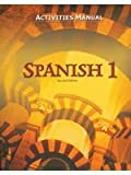 BJU Spanish 1 Student Activities Manual (Second Ed