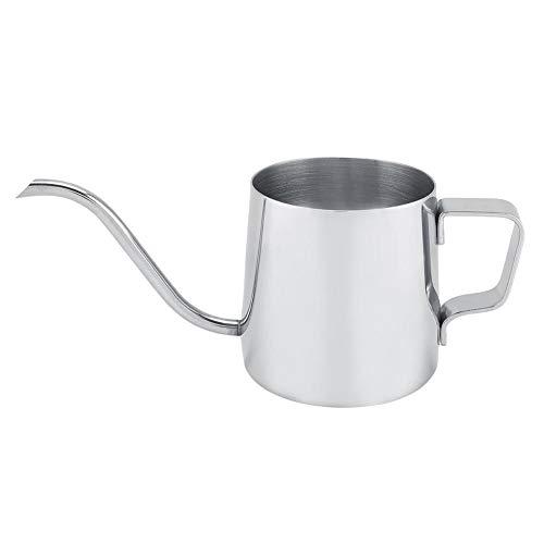 Mini Koffiepot, 250 ml Capaciteit 4 Kleuren Rvs Zwanenhals Smalle Uitloop Koffie Drip Waterkoker Theepot voor Thuis…