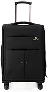 Luggage & Bags 28 inch Oxford Cloth Universal Wheel Travel Password Draw-bar Box Luggage Carrier(Black) (Color : Black)