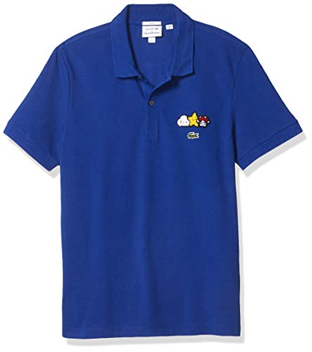 Lacoste Men's CROCOSERIES Friends with You Polo, Cosmic, M