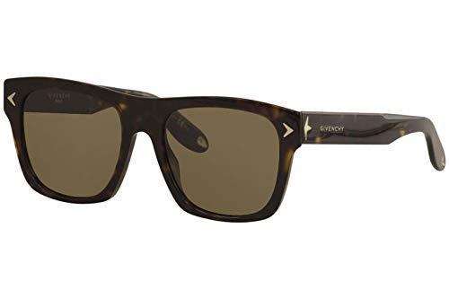 Givenchy GV 7011/S E4 086 Occhiali da Sole, Marrone (Dark Havana/Brown), 55 Unisex-Adulto