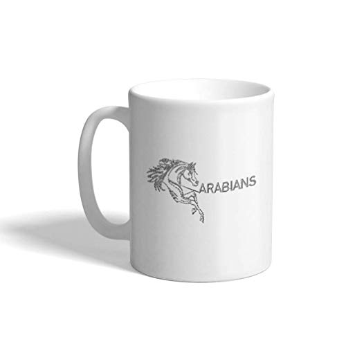Aangepaste koffiemok 11 Oz Paard Arabieren Dieren Boerderij en gedomesticeerde Keramische Theekop Thee of Koffie Mok