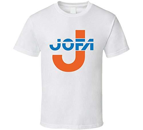JOFA Hockey Sport Helmet Gretzky T-Shirt Mens Tee White L