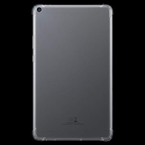XHEVAT Funda protectora para tablet Huawei MediaPad T3 de 8 pulgadas a prueba de golpes transparente TPU