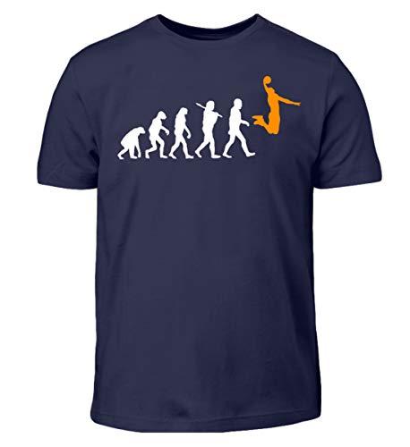 Evolution Basketball Tshirt Geschenk für Herren, Damen und Kids Darwin Männer Dunk - Kinder T-Shirt