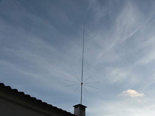 Sirio Antenna 827 (26.4-28.4 MHz) 5/8 Wave 3000W Tunable 10M & CB Base Antenna