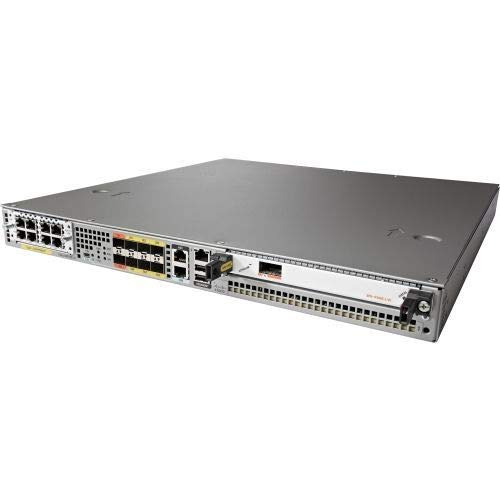 Cisco ASR 1001-X Router mit Ethernet/LAN, grau – angeschlossene Router (AES, Grau, 1U, 250 W, Netz, 85 – 264 V)