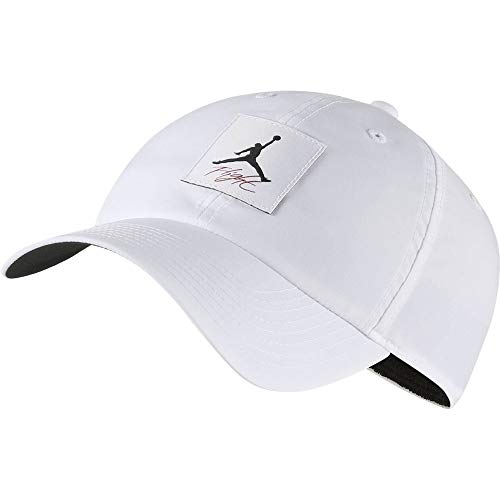 Nike Jordan H86 Legacy Flight Hat, White/Black, One Size