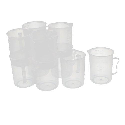 X-Dr 10 Stücke Küche Labor 250 ml Kunststoff Messbecher Krug Ausgießer Container (7942e918e970544086aa18c555963ef6)