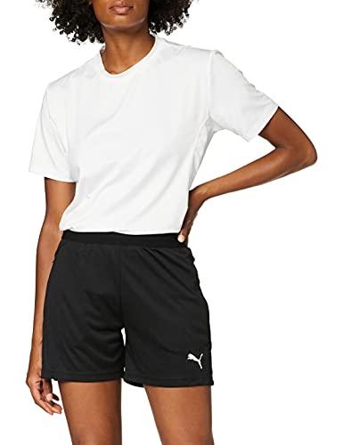 PUMA Damen, LIGA Training Shorts W Hose, Black-White, M
