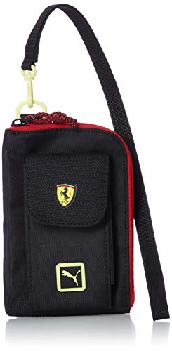 Puma Ferrari Fanwear Street Wallet, Monedero Unisex Adulto, Black (Neg