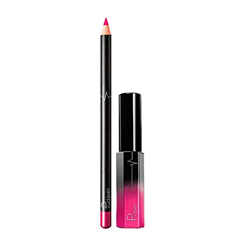 Vovotrade Crayon à Lèvres Lip Gloss Set Brillant à Lèvres Sexy hydratant Maquillage Lips Imperméable à l'eau Mode 2019 Nouvelle 2PCS Cosmétiques antiadhésif Imperméable à l'eau
