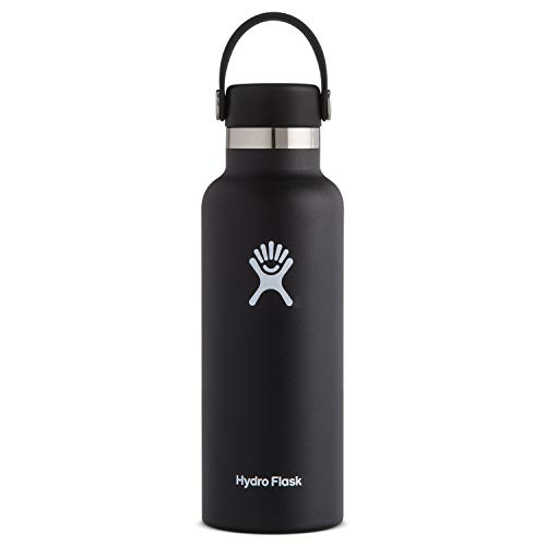 Hydro Flask Standard Mouth Water Bottle, Flex Cap - 21 oz, Blueberry