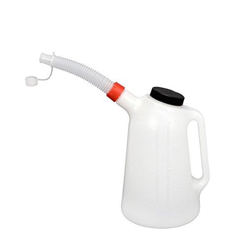 Ölkanne 3 Liter Füllkanne Wasser Öl Wischwasser Messkanne Einfüllkanne Gieser