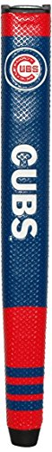 %23 OFF! Team Golf MLB Chicago Cubs Golf Putter Grip with Removable Gel Top Ball Marker, Durable Wid...