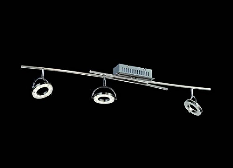 3-flammiger LED Deckenstrahler SHINE-LED, Spots schwenkbar, dimmbar, Fischer Leuchten 16923