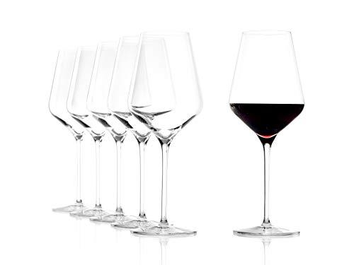 Stölzle Lausitz - Copas para vino tinto Quatrophil, de 568 ml, parecen...