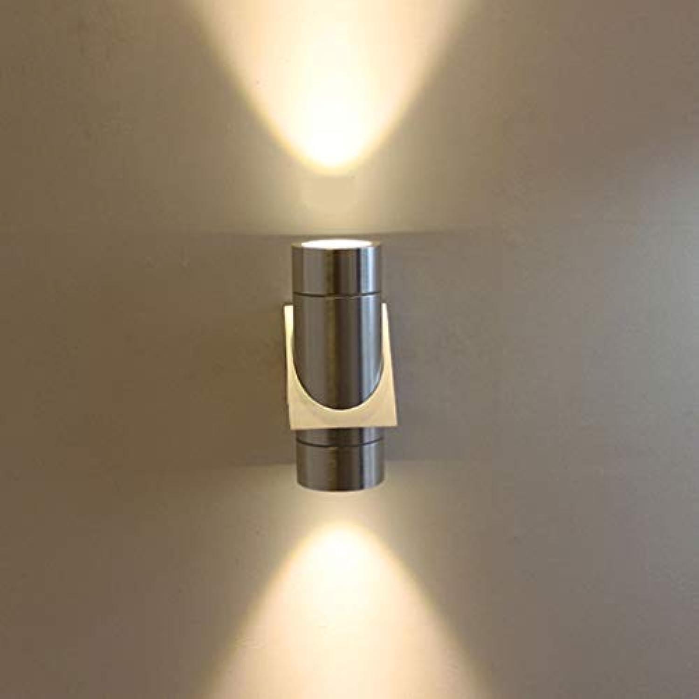 NHX LED Wandlampe Aluminium Wasserdicht Auenwandleuchte Gartenlampe Wnden Wegen Eingngen Doppelkopf Wandbeleuchtung