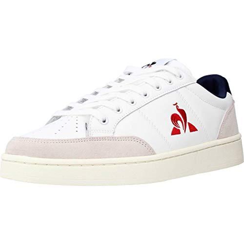 Le Coq Sportif Unisex-Erwachsene Court NET Sneaker, Optical White/Bbr, 45 EU