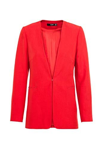 HALLHUBER Blazer mit Leinen und Tencel™ leicht tailliert rot, 42
